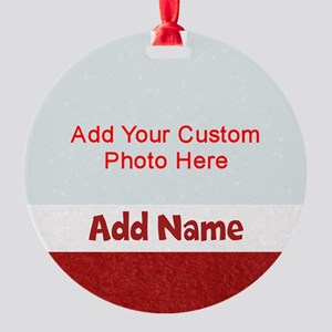 Christmas Stocking Round Ornament
